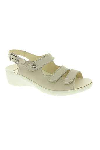 goldkrone chaussures femme de couleur beige
