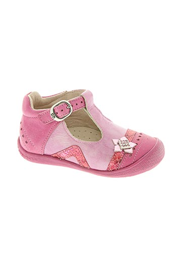 babybotte chaussures fille de couleur rose