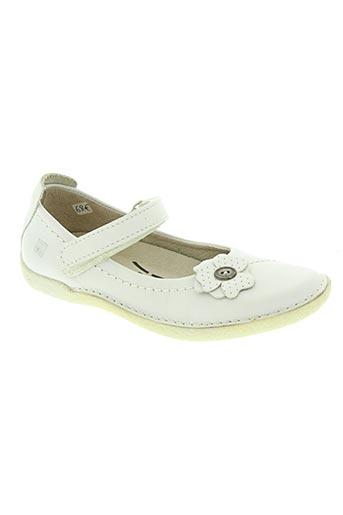 noël chaussures fille de couleur blanc