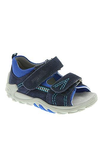 super fit chaussures garçon de couleur bleu