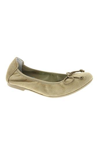 acebos chaussures fille de couleur beige