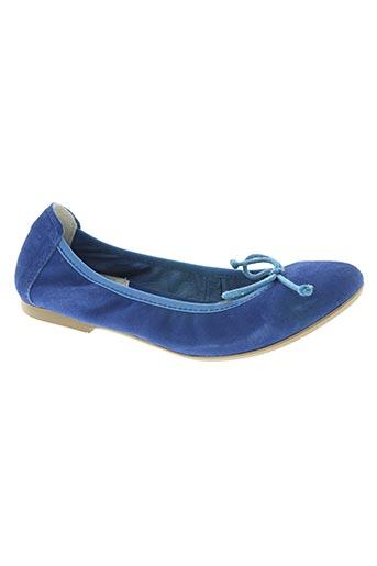 Ballerines bleu ACEBOS pour fille