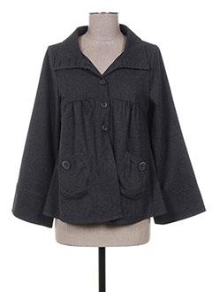 Veste casual gris BEVERLY pour femme