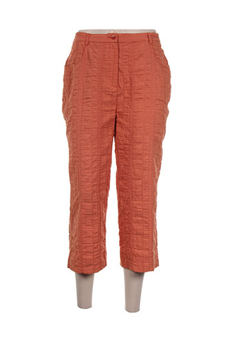 griffon pantacourts femme de couleur orange