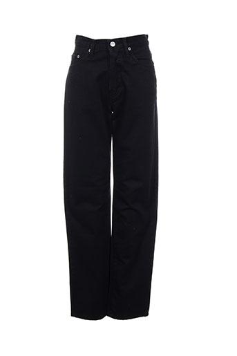 Pantalon casual noir GALLICE pour femme