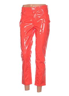 Pantalon 7/8 orange CHEAP MONDAY pour femme