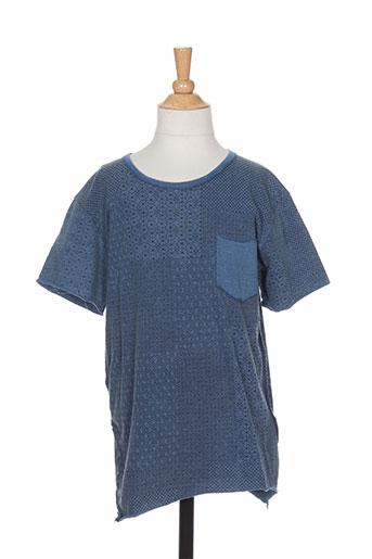 pepe jeans t-shirts garçon de couleur bleu