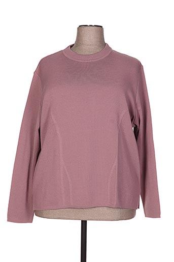 lisa chesnay pulls femme de couleur rose