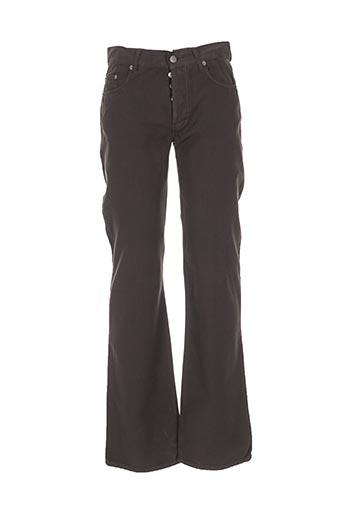 Pantalon casual marron GALLICE pour homme
