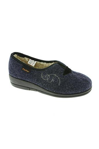 fischer chaussures femme de couleur bleu
