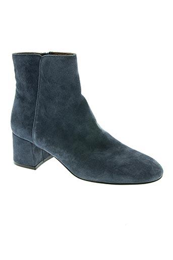 attilio giusti leombruni chaussures femme de couleur bleu