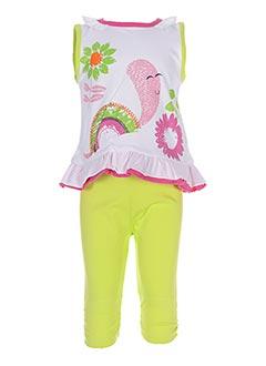 Top/pantalon vert BABY BOL pour fille