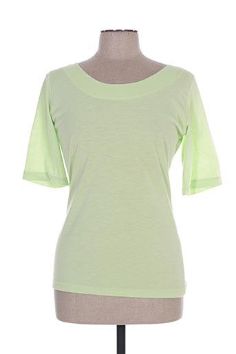 enjoy t-shirts femme de couleur vert