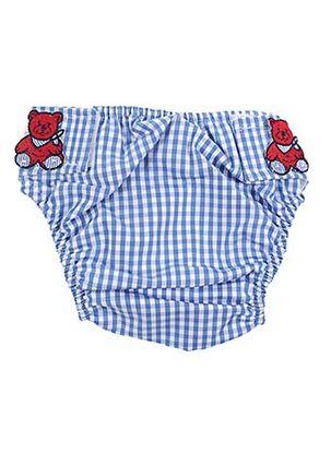 Maillot de bain 1 pièce bleu ARCHIMEDE pour enfant