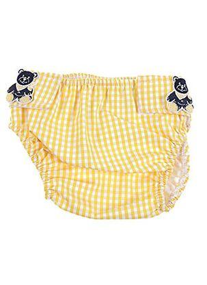Maillot de bain 1 pièce jaune ARCHIMEDE pour enfant