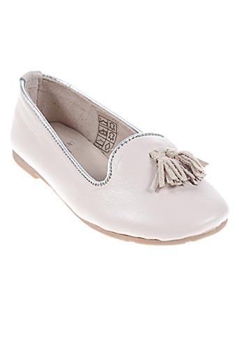carrement beau chaussures fille de couleur beige