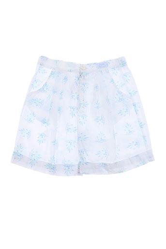 tartine et chocolat shorts / bermudas fille de couleur bleu