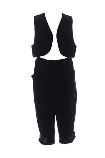 Veste/pantalon noir CACHAREL pour fille