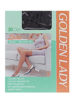 Collants GOLDEN LADY Femme De Couleur Gris En Soldes Pas Cher - Modz 62481b652c2