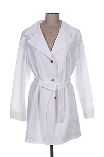 paloma manteaux femme de couleur blanc