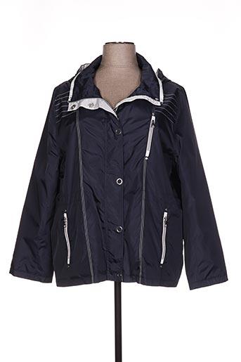 c.missaro manteaux femme de couleur bleu
