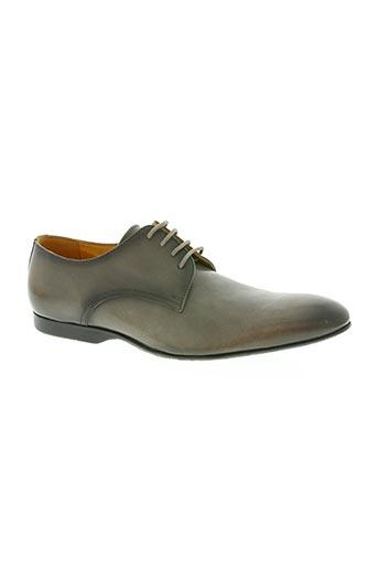 pellet chaussures homme de couleur gris