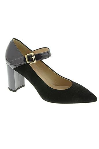 moda di fausto chaussures femme de couleur noir