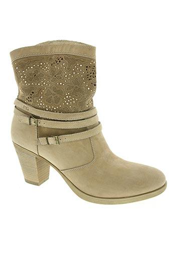 nero giardini chaussures femme de couleur beige
