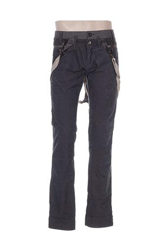 Pantalon casual gris DESIGUAL pour homme