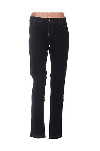 Jeans skinny noir DESIGUAL pour femme