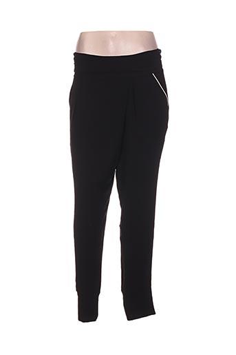 Pantalon chic noir BREAL pour femme