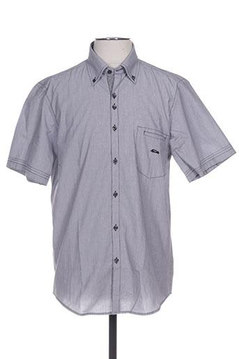 dario beltran chemises homme de couleur gris