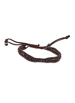 Bracelet marron AUTOUR D'ELLE pour femme