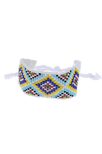 Bracelet blanc AUTOUR D'ELLE pour femme