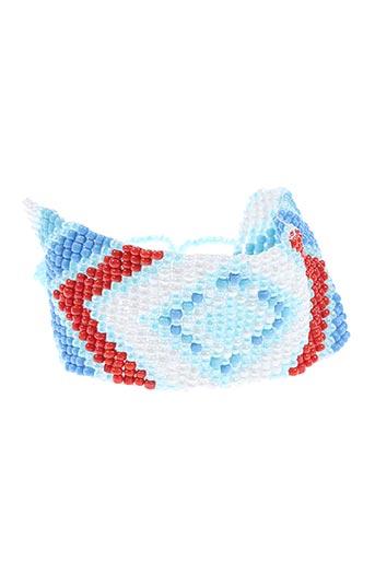 Bracelet bleu AUTOUR D'ELLE pour femme