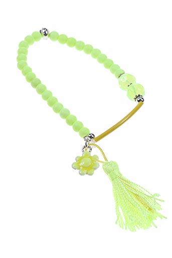 Bracelet jaune AUTOUR D'ELLE pour femme