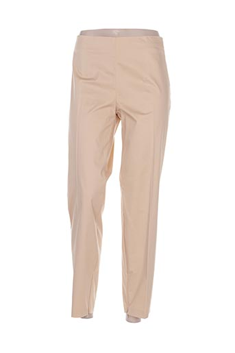 Pantalon 7/8 beige CRISTINA EFFE pour femme
