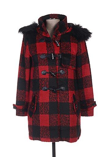 gaudi manteaux femme de couleur rouge