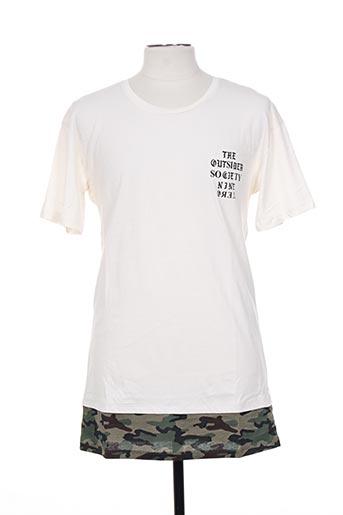 jack & jones t-shirts homme de couleur beige