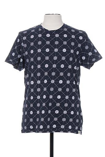 jack & jones t-shirts homme de couleur bleu