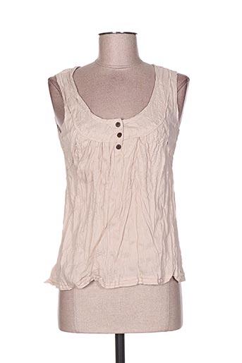 too katai chemises femme de couleur beige