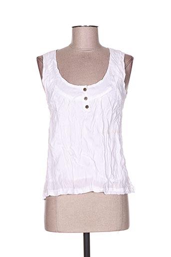too katai chemises femme de couleur blanc