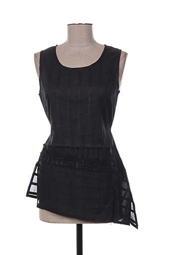 malia b chemises femme de couleur noir