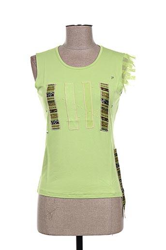 my way t-shirts femme de couleur vert