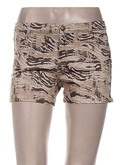Produit-Shorts / Bermudas-Femme-CONFETTI