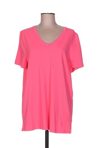 ciso t-shirts femme de couleur rose