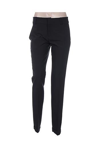lenny b pantalons femme de couleur noir