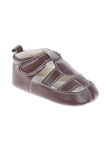nursery time chaussures garçon de couleur marron