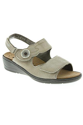 mobils chaussures femme de couleur beige