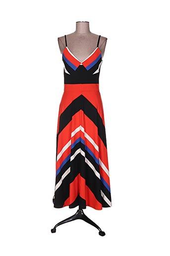 Robe longue orange ISABEL DE PEDRO pour femme